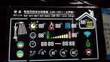 Visualización del Va LCD con el alto contraste para el coche