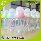 BPA libèrent le biberon nouveau-né de câble d'alimentation de bébé de flux normal de polypropylène