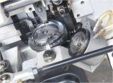 Máquina de coser del solo de la aguja zigzag agudo extraordinariamente grueso doble del gancho, fabricante de la máquina de coser