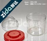 Tarro plástico transparente respetuoso del medio ambiente al por mayor/tarro plástico del alimento