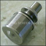 Edelstahl304 Draht eingewickeltes Johnson-Düsen-Filterrohr