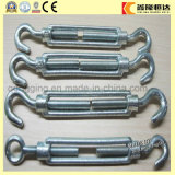 European Type Double Jaw Stainless Steel M16 Turnbuckle