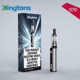 Mini sigaretta calda di Kingtons 070 E del kit del dispositivo d'avviamento di Tpd Vape 900mAh