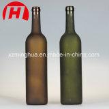 botellas de cristal de la vodka de las botellas de vino del vidrio helado 750ml