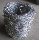 Alambre de púas galvanizado sumergido eléctrico/caliente