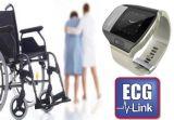 Perseguidor impermeável Mt80 do GPS do relógio de ECG, perseguidor Mt-80 do bracelete do GPS do relógio da tela de 1.28 polegadas com alta qualidade