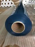 Folha desobstruída do PVC com o fornecedor azulado do tom da cor