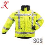 Отражательная куртка безопасности на зима (QF-516)