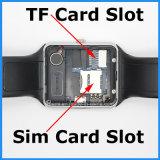Montre intelligente de Bluetooth avec la carte SIM comme cadeau de Noël (GT08)