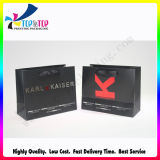 OEM Design Black Paper Packing Bag para Hairdressing Products