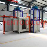 Ce Manual Powder Coating Booth per Car Wheel