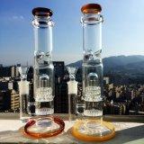 16inch 60diameter 5mm Stärken-Bienenwabe-Platte Perc Showerhead-zum rauchenden Wasser-Glasrohr