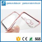 LuxuxPlating Bumper Transparent Soft TPU Phone Fall Cover für Samsung Galaxy A7 (2016) A710
