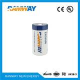 Bateria de trabalho larga da temperatura para alarmes e dispositivos de segurança (ER26500)