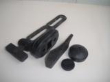 Kundenspezifische Qualitäts-Stahl überzogene Gummiprofile
