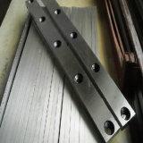 Лезвия ножниц гильотины металла для плиты вырезывания