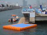 Muelle flotante marina del barco de Zhongya