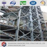 Hoher Anstieg-schweres Stahlkonstruktion-vorfabriziertindustriegebäude