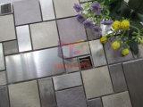 Алюминиевая мозаика нержавеющей стали и мрамора смешивания (CFM1031)