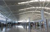 La estructura de acero ligera prefabricó la vertiente del hangar