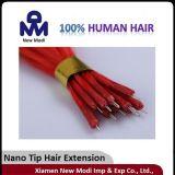 100% Jungfrau-brasilianisches Haar, Nano Spitze-Menschenhaar-Extension