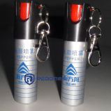 Gaz lacrymogène de spray au poivre d'autodéfense de police
