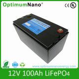 Paquete profundo recargable de la batería del ciclo 12V 100ah LiFePO4