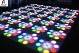 Самое новое управление DMX цветя танцевальная площадка Diso СИД