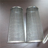 Gesponnener Maschendraht-Bildschirm-Maschendraht-Filter-Zylinder/Kassette