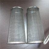 Malla de alambre tejido malla de alambre cilindro de malla de filtro / cartucho