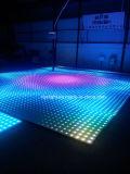 段階の結婚式ライトのための基本料金60*60cm LEDデジタルのダンス・フロア