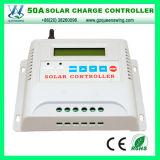 12 / 24V MPPT Solar Controlador Controlador de Carga 50A LCD Solar (QWM-1450)