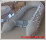 Airmatの床(FWS-D320)が付いているイタリアのセリウムの膨脹可能なボート