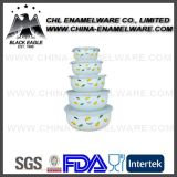 Bacia personalizada quadrado do gelo do esmalte da impressão do logotipo do teste do produto comestível