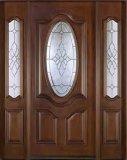 Твердая деревянная дверь с высоким качеством и новой конструкцией