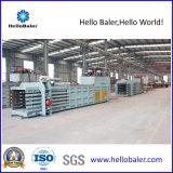 Prensa horizontal automática do papel Waste com transporte (TEM 4-6)