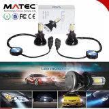 Linterna al por mayor del bulbo LED de la MAZORCA con el tubo interno H4 H7 H11 9005 9006 de Canbus y de color