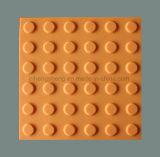 Плитка охраны окружающей среды резиновый тактильная вымощая индикатор