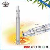Стекольной ванны топления 0.5ml вапоризатора 290mAh масла пеньки сигарета керамической миниая электронная