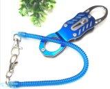 保護/Strongの引き込み式の螺線形ロープまたは釣り道具S-058のための安全ロープ