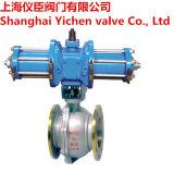 Válvula de bola hidráulica de corte