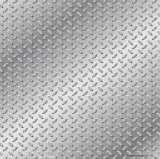 Tôle d'acier Checkered galvanisée plongée chaude
