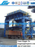 Tolva movible montada sobre carriles de la tolva portuaria a granel del cemento del cargo