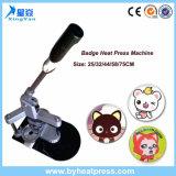 Di x-y-millimetro macchina popolare del distintivo di sublimazione della pressa di calore di disegno 25/32/44/58/75cm