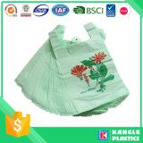 Пользовательские печатных Корзина Пластиковые Футболка сумка
