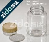 frasco 300ml plástico transparente para o empacotamento de alimento