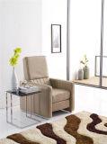 灰色カラーはアメリカデザイン細いArmrestの椅子を押し戻す