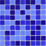 Azulejo estándar olímpico del vidrio de mosaico de la piscina