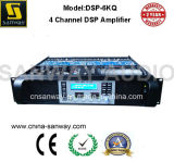 1250W 4 Amplificador PA CH High Power com DSP