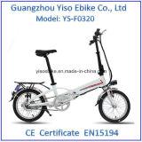 Pulgada 250W de Myatu 20 plegable la bici de E con la batería ocultada
